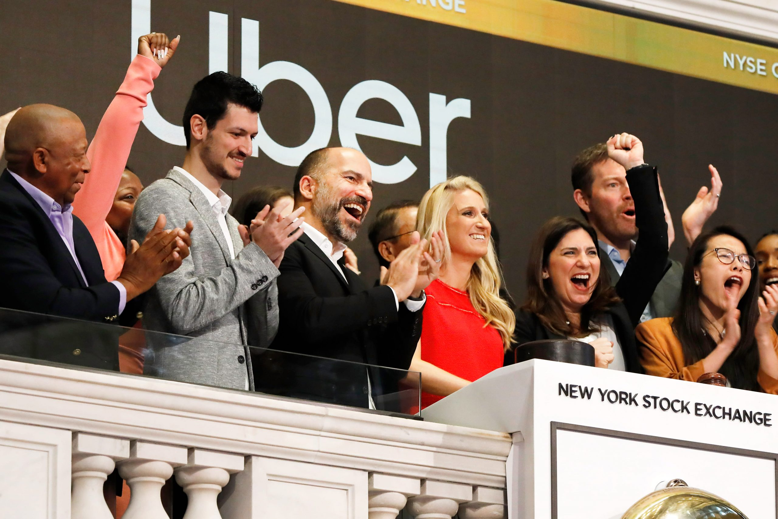 Uber shares rise after company sets earlier profitability goal