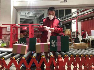 Virus outbreak forces Chinese to stay at home and order more delivery