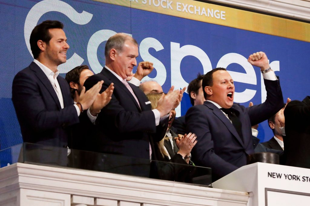 Stock starts trading on the NYSE