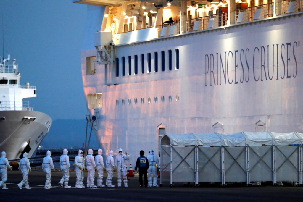 New coronavirus cases surge as 3,700 remain quarantined on ship in Japan