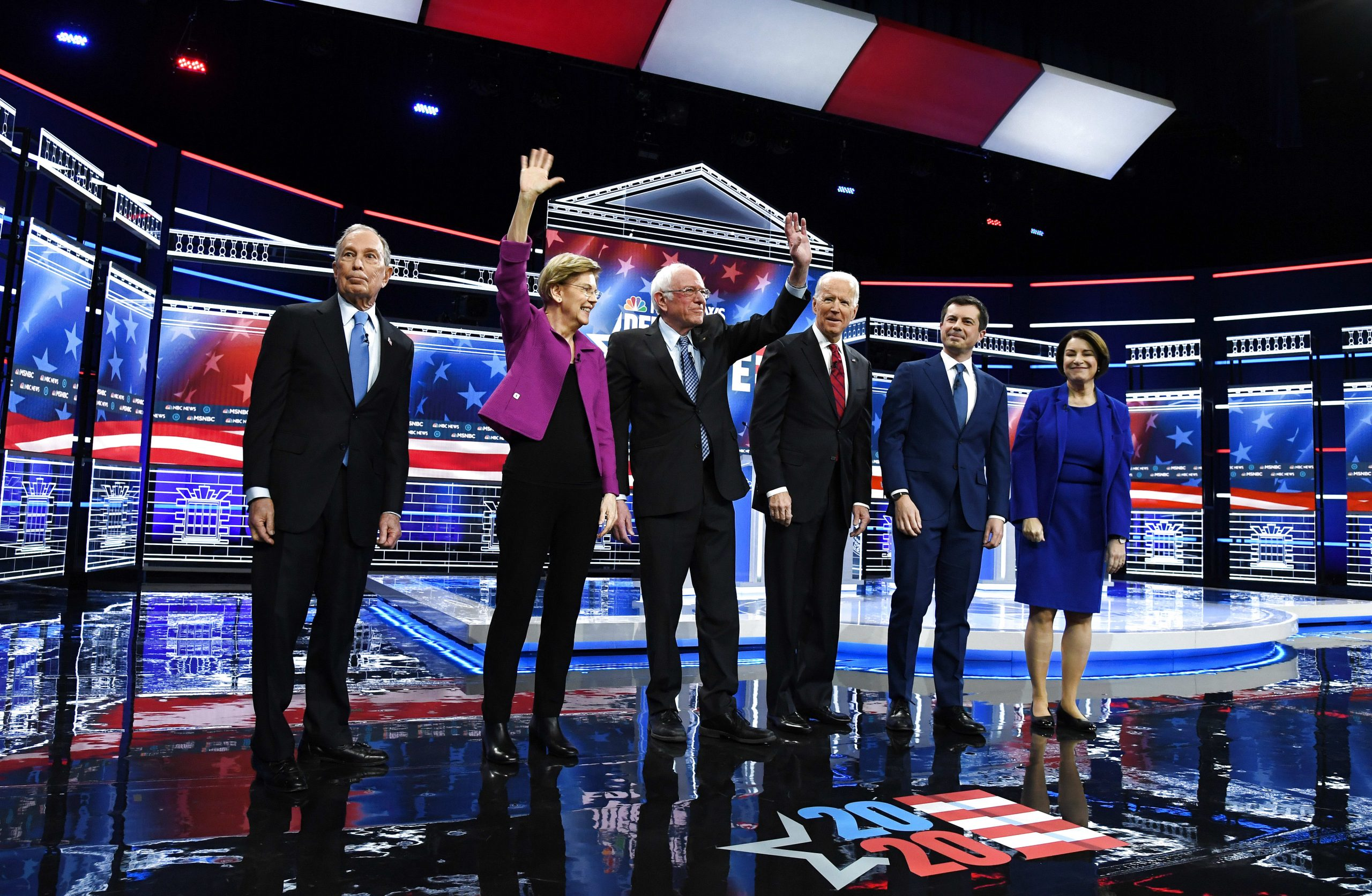 Democratic presidential candidates on big tech issues