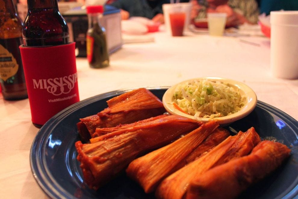 What are Delta tamales, and why are they so beloved in Mississippi?