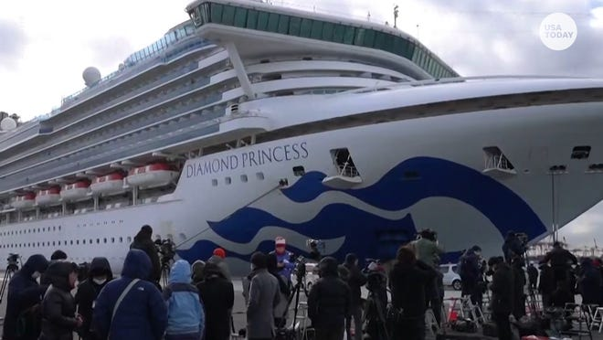8 Americans test positive on Diamond Princess cruise ship