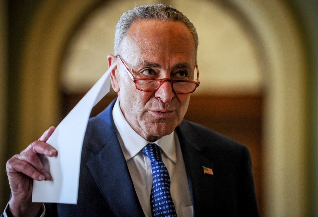 Schumer says stimulus deal is close, US mayors ask for help