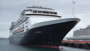 Holland America is splitting up its healthy, sick passengers