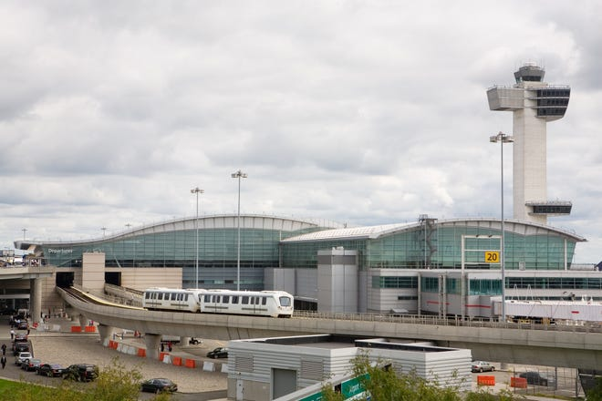 FAA had a ground stop at JFK, LaGuardia, Newark airports
